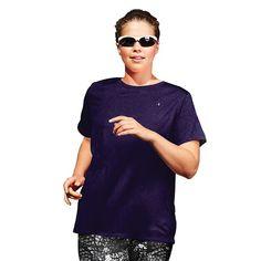 Women's Plus Size Champion Scoopneck Vapor Active Tee, Size: