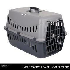Gipsy Transport Basket light grey Large
