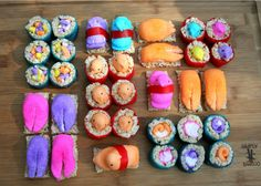 Make Peepshi. | 31 Things You Can Do With Peeps That Will Blow Your Kids' Minds
