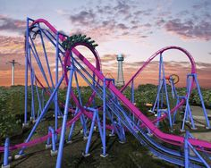 Puke and Rally: five record-breaking amusement rides are coming to America