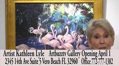 Artbuzztv Gallery April 1 Kathleen Lyle Artist 3-16-16
