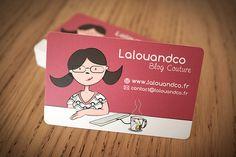 Cartes De Visites Lalouandco Par GraphPix Graphiste Freelance Graphpix