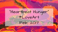 "This piece is for the Creative Arts Collaboration February, 2017 Virtual Art Crawl It was also created as the background for ""H'art Walk"" in Kingsv. Virtual Art, Art Walk, Fluid Acrylics, Acrylic Pouring, In A Heartbeat, Love Art, Creative Art, Collaboration, February"