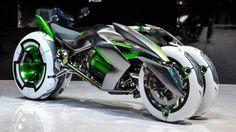 Kawasaki представи концепт на триколесен трансформър