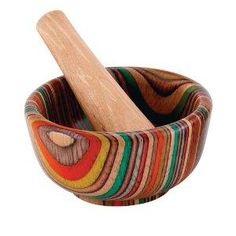 HIC Porcelain Round Mortar and Pestle