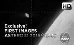 """Asteroide 2015 TB145 Primeiras Imagens! """"GRANDE ABÓBORA"""" Irá Colidir com a Terra?"""