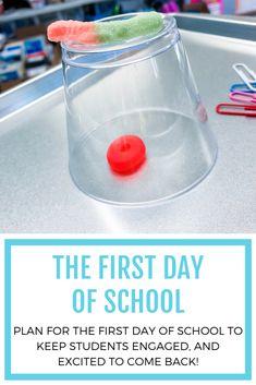 Preschool First Day, First Day Of School Activities, Kindergarten First Day, Teaching First Grade, Preschool Weather, Kindergarten Art, Class Activities, First Week Of School Ideas, Beginning Of The School Year