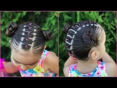 Best designs ideas of peinados de ninas. Little Girl Hairstyles, Easy Hairstyles, Kids Hairstyle, Bobs, Toddler Hair, Healthy People 2020, Hair Dos, Little Girls, Cool Designs