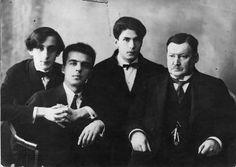 Horowitz, inconnu, Milstein et Alexander Konstantinovich Glazunov (1865-1936)