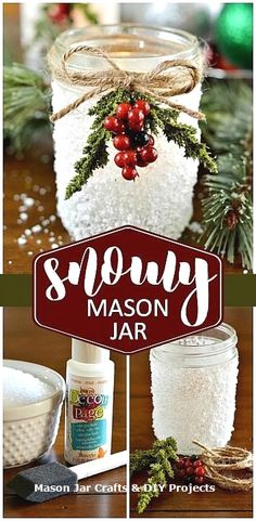 New Creative Mason Jar DIY Ideas  #masonjarideas