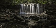 1. The ethereal falls at Ricketts Glen.