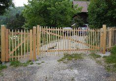 kleine zimmerrenovierung dekor zaun staketen, 7 besten staketenzaun bilder auf pinterest   fence, garden fencing, Innenarchitektur