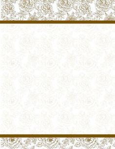 English Rose Shimmer Design Paper, 8.5x11, 40/PK