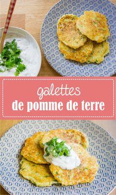 Galettes de pomme de terre râpées sur www.lagodiche.fr