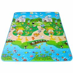 Baby Play Carpet EVA Mat 180*150*1cm Double Sided Baby Play Mat Alfombra Infantil Baby Playmat Children Rugs Play Gym Kid Carpet