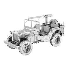 Metal Earth 3D ICONX Laser Cut Model Willys MB JEEP