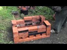 Foyer à bois économe Niafunké Pottery Kiln, Raku Kiln, Firewood, Youtube, Crafts, Gardens, Timber Frames, How To Build, Brick
