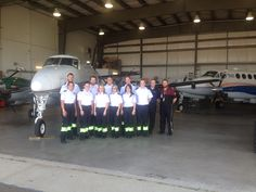 A group of students from the local Paramedic school came by for a visit