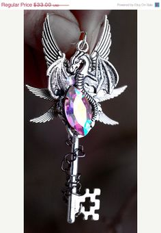 SALE  Dragon's Gift Key by KeypersCove on Etsy, $29.70
