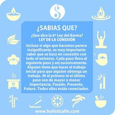 leyes del karma 6 Chakras, Reiki, Yoga For Balance, Yoga Mantras, Quotes About Everything, Spiritus, Smart Quotes, Magic Words, Positive Messages