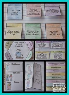 First Days of Math Workshop-Now includes an interactive notebook activity for each lesson! $