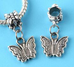 European Style Beads //   Pandora inspired  //  Dangling