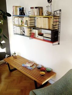 Wall-Mounted Bookshelves in Real-Life Spaces