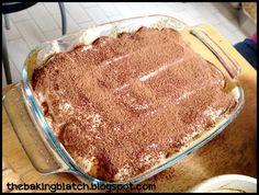 The Baking Biatch || by Cynthia Lim: Eggless Tiramisu