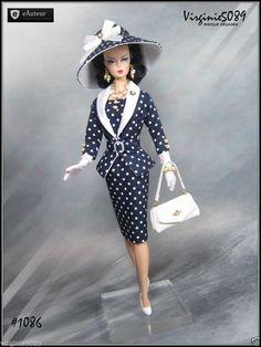 Tenue Outfit Accessoires Pour Integrity Toys Barbie Silkstone Vintage 1086 | eBay