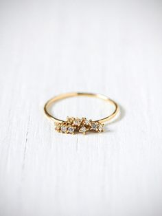 How pretty is the diamond cluster ring below? I found it on Free People, then I went looking for more and more I found. But let me warn you now, 80% of them