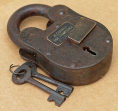 P Amp F Corbin New Britain Ct Old Ornate Key Non Magnetic 2