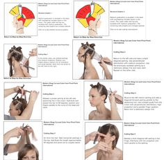 I am a Master Licensed Cosmetologist, originally licensed in 1996. This is a great tutorial on how to do a Shag Haircut, in the Pivot Point ...