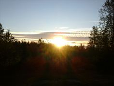 Mid Night sun