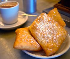 Breakfasts Around the World Best Breakfasts Around the World: Morning Call. New Orleans, LA.(Beignets here beat Cafe du Monde they say)Best Breakfasts Around the World: Morning Call. New Orleans, LA.(Beignets here beat Cafe du Monde they say) Breakfast Around The World, Desserts Around The World, Food Places, Best Places To Eat, Best Breakfast, Breakfast Recipes, Fun Desserts, Delicious Desserts, Morning Call