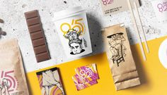Creative Coffee Branding and Packaging Designs