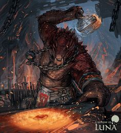 m Dragonborn Blacksmith Armorsmith Weaponsmith Underdark city Story High Grade Magic Weapons & Armor Merchant med Fantasy Races, Fantasy Warrior, Fantasy Rpg, Fantasy Artwork, Dark Fantasy, Dungeons And Dragons Characters, Dnd Characters, Fantasy Characters, Fantasy Character Design