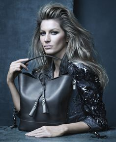 Marc Jacobs' Muse Gisele Bündchen in the Louis Vuitton Spring/Summer 2014 Fashion Campaign, shot by Steven Meisel.