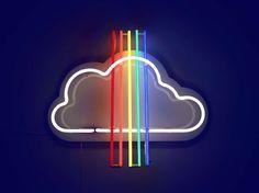 "anyahindmarch:  ""  Rainbow Jet by Gemma Tickle  """