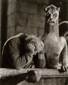 Charles Laughton for 'Hunchback of Notre Dame', RKO.  Alex Kahle, 1939.