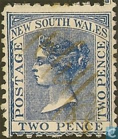 1871  New South Wales - Queen Victoria