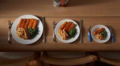 Aumenta la canitdad de comidas diarias