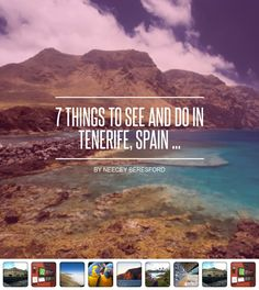 7 #Things to See and do in Tenerife, Spain ... - #Travel