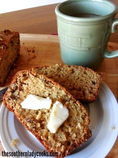 Nutmeg bread is an old fashioned quick bread that is wonderful as a gift or with coffee anytime. Great for the holidays and delicious.