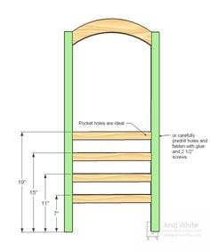 Easy wood furniture projects ana white 22 new ideas Easy Wood Projects, Easy Woodworking Projects, Woodworking Plans, Project Ideas, Woodworking Equipment, Pallet Projects, Woodworking Shop, Ana White, Diy Furniture Plans