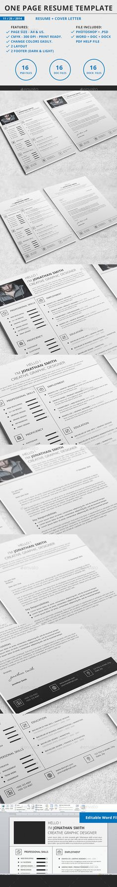 Resume Template Pinterest Template, Creative resume templates