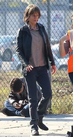 Dressed down:Nicole Kidman, 50, was back at work on the film Destroyerin Los Angeles on Thursday