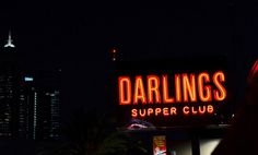 Darlings Supper Club - music and food in northbridge