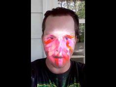 Trippy Third Eye Face Paint Snapchat