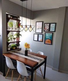 Cozy Round Small Dining Room Decor Ideas for Small Space - Home Style