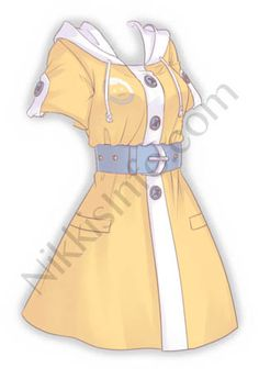 Dress Design Drawing, Dress Design Sketches, Fashion Design Drawings, Fashion Sketches, Manga Clothes, Drawing Anime Clothes, Kawaii Clothes, Anime Outfits, Mode Outfits